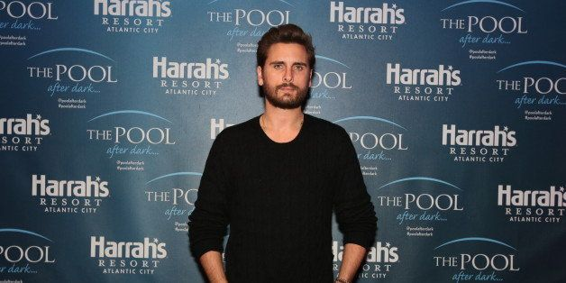 ATLANTIC CITY, NJ - MARCH 14:  Scott Disick hosts The Pool After Dark at Harrah's Resort on Saturday March 14, 2015 in Atlant