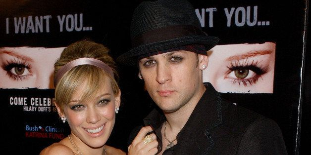 Hilary Duff and Joel Madden at the Mood in Hollywood, California (Photo by Gregg DeGuire/WireImage)