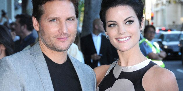 BEVERLY HILLS, CA - MAY 19:  (L-R) Actor Peter Facinelli and actress Jaimie Alexander attend the premiere of HBO's 'The Norma