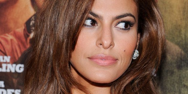 "Actress Eva Mendes attends the premiere of Focus Features' ""The Place Beyond The Pines"" at the Landmark Sunshine Theater on T"