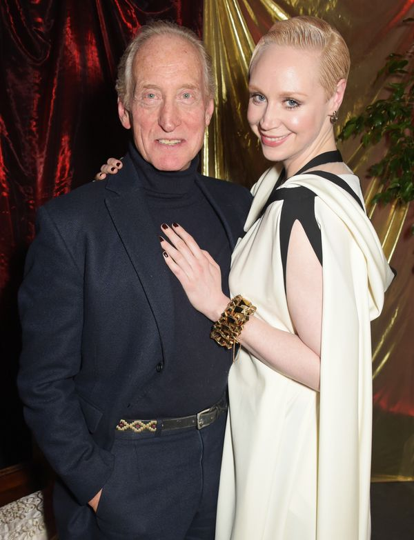 Charles Dance and Gwendoline Christie.