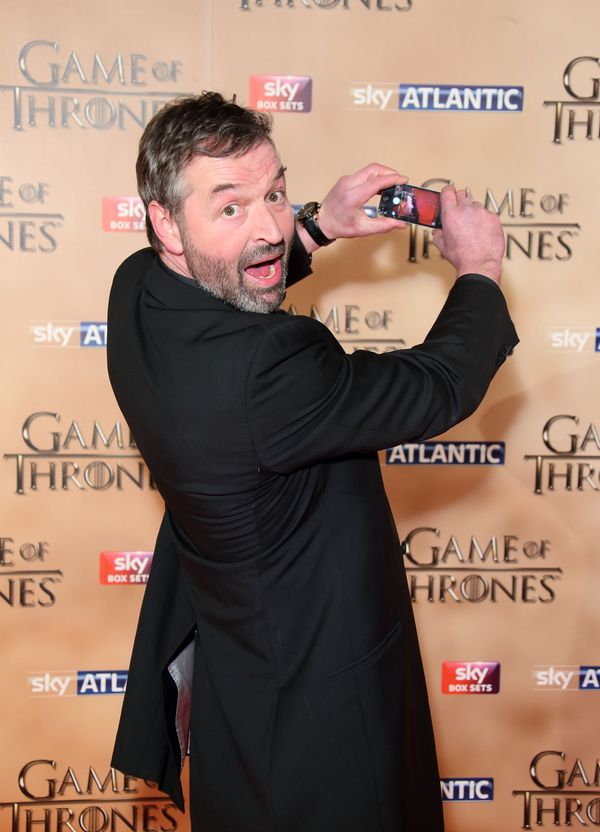 Ian Beattie at the world premiere.