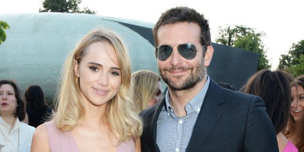 LONDON, ENGLAND - JULY 01:  Suki Waterhouse (L) and Bradley Cooper attend The Serpentine Gallery Summer Party co-hosted by Br