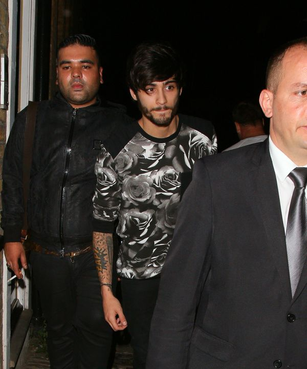 Florals look good on you, Zayn.
