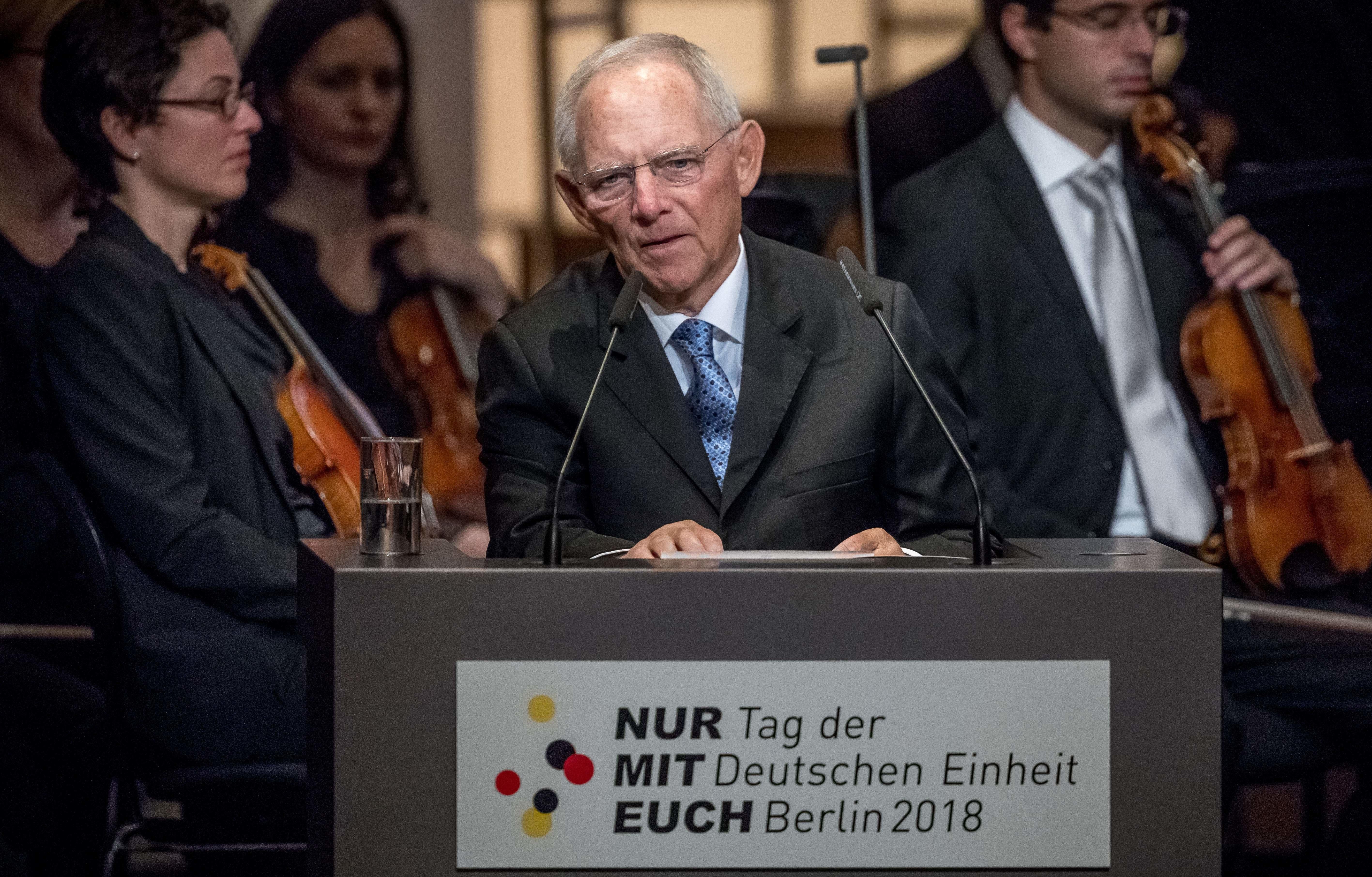 Schäuble sagt dem Populismus den Kampf an – die 5 wichtigsten