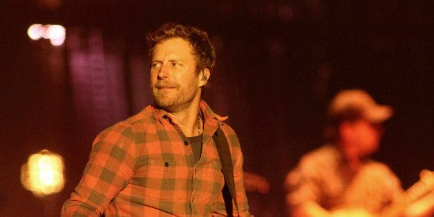 """Singer-songwriter Dierks Bentley performs in concert during his """"Riser Tour 2014"""" at the Royal Farms Arena on Saturday, N"""