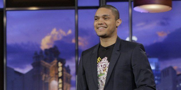 THE TONIGHT SHOW WITH JAY LENO -- Episode 4177 -- Pictured: Comedian Trevor Noah performs on January 6, 2012 -- Photo by: Pau