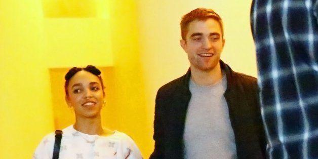 MIAMI, FL - DECEMBER 04:  (L-R) Singer FKA Twigs and Robert Pattinson attend a Surface Magazine Event With Hans Ulrich Obrist