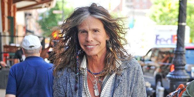 NEW YORK, NY - JUNE 12:  Steven Tyler as seen on June 12, 2013 in New York City.  (Photo by NCP/Star Max/FilmMagic)