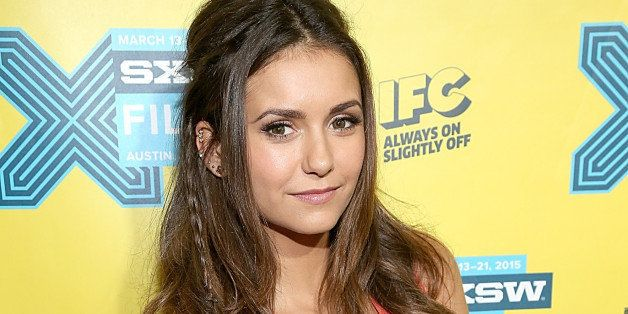AUSTIN, TX - MARCH 13:  Nina Dobrev poses on the red carpet for the screening of Final Girls during the South by Southwest Fi