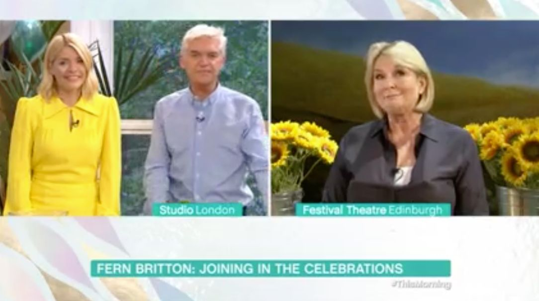 Fern Britton Throws Shade At Phillip Schofield Over Bafta Invite Snub During 'This Morning'