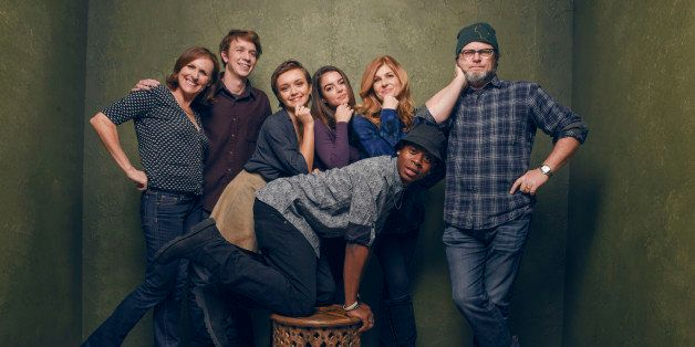 PARK CITY, UT - JANUARY 24:  Actors Molly Shannon, Katherine C. Hughes, RJ Cyler, Olivia Cooke, Thomas Mann, Connie Britton a