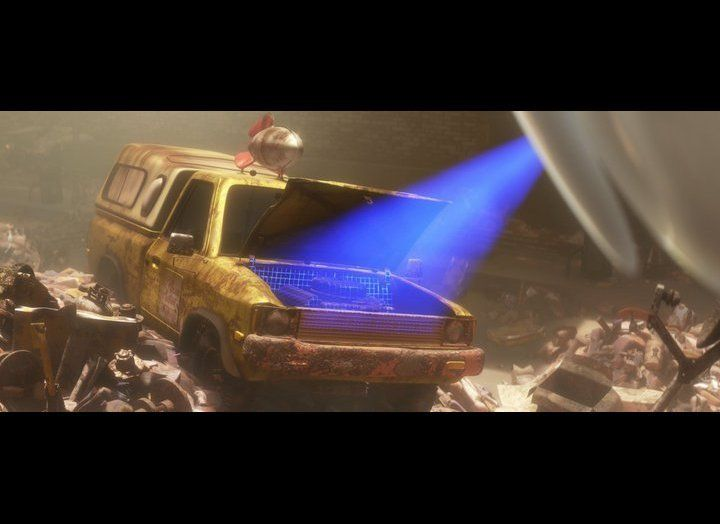 "Appearing in almost every Pixar feature film, The Pizza Planet Truck, first spotted in ""Toy Story"" and shown here in ""Wall-E,"