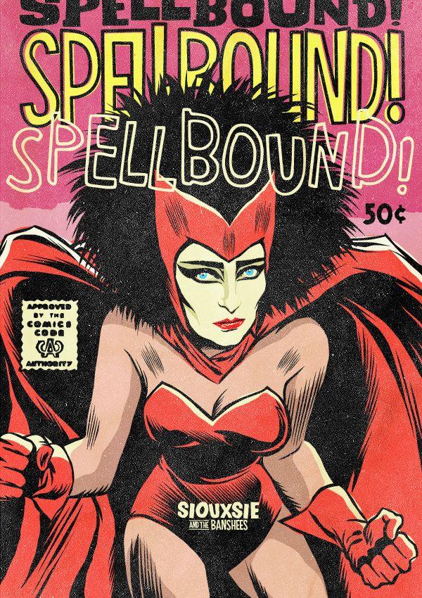 Η Siouxsie των Siouxsie and the Banshees ως Scarlet Witch