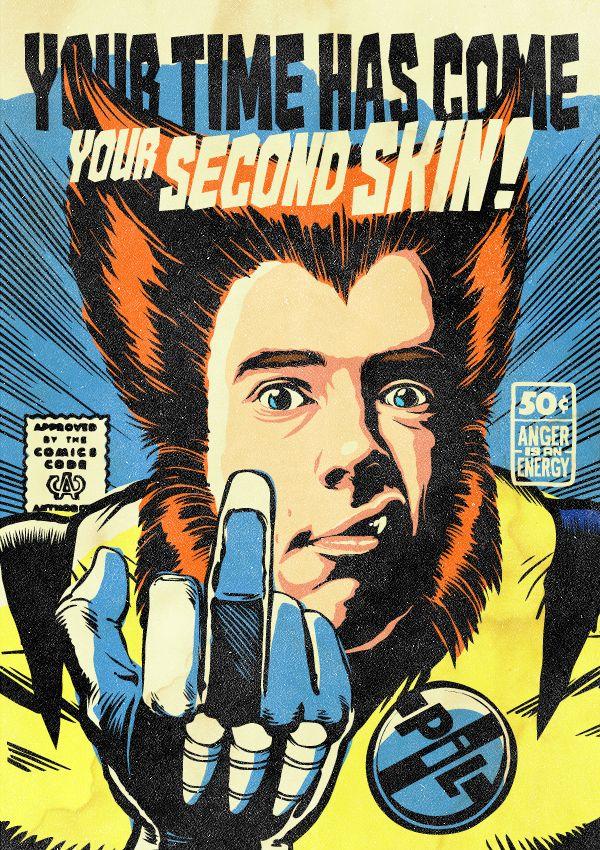 Ο Billy Idol, ξανά, αυτή τη φορά ως Wolverine