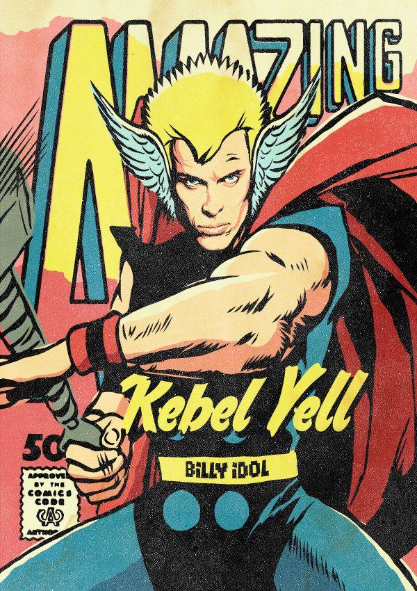 O Billy Idol ως Thor