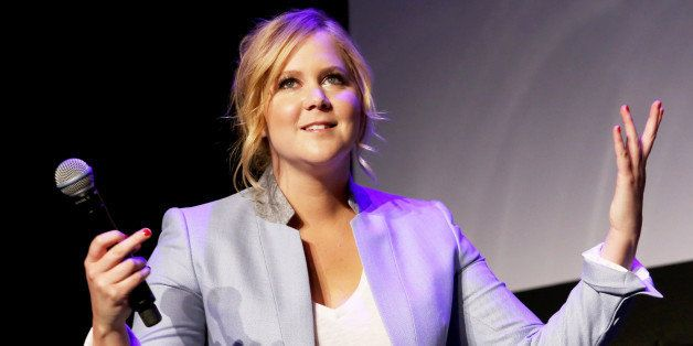 NEW YORK, NY - APRIL 19:  Actress Amy Schumer speaks at Tribeca Talks: After the Movie: Inside Amy Schumer during the 2015 Tr