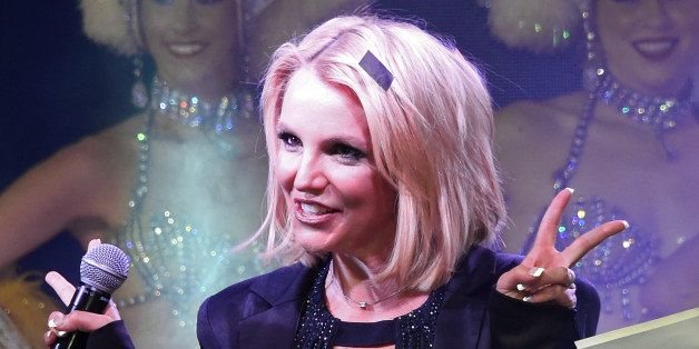 LAS VEGAS, NV - NOVEMBER 05:  Singer Britney Spears attends a 'Britney Day' event at The LINQ Promenade held to celebrate her