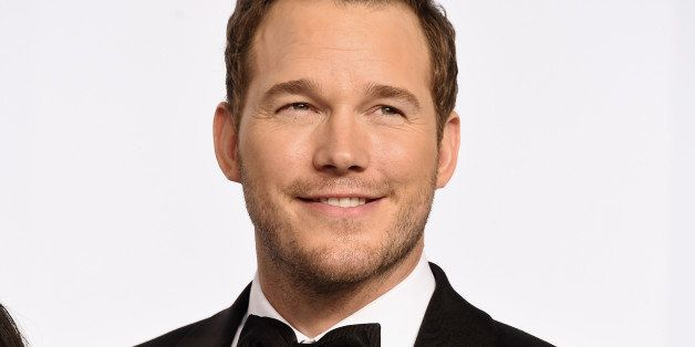 HOLLYWOOD, CA - FEBRUARY 22:  Actor Chris Pratt poses in the press room during the 87th Annual Academy Awards at Loews Hollyw