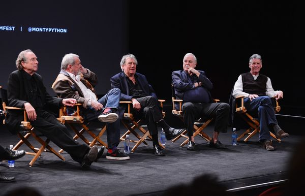 Here S What The Monty Python Reunion Looked Like At The