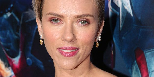 "Scarlett Johansson arrives at the Los Angeles premiere of ""Avengers: Age Of Ultron"" at the Dolby Theatre on Monday, April 13,"