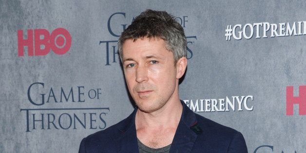 "Actor Aidan Gillen attends HBO's ""Game of Thrones"" fourth season premiere at Avery Fisher Hall on Tuesday, March 18, 2014 in"