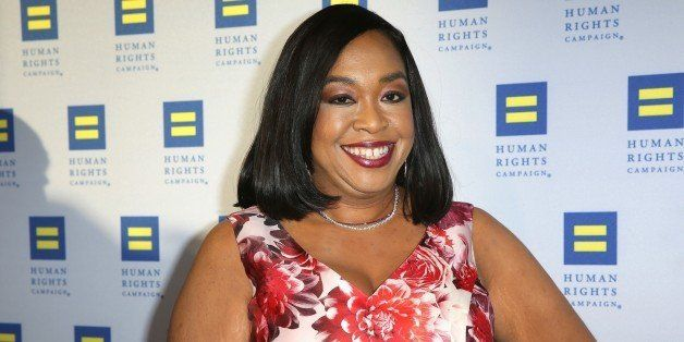 Shonda Rhimes arrives at the 2015 Human Rights Campaign Gala Dinner at the JW Marriott LA Live on Saturday, March 14, 2015 in