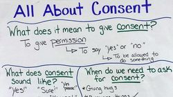 Teacher's Simple Chart Breaks Down The Idea Of Consent For