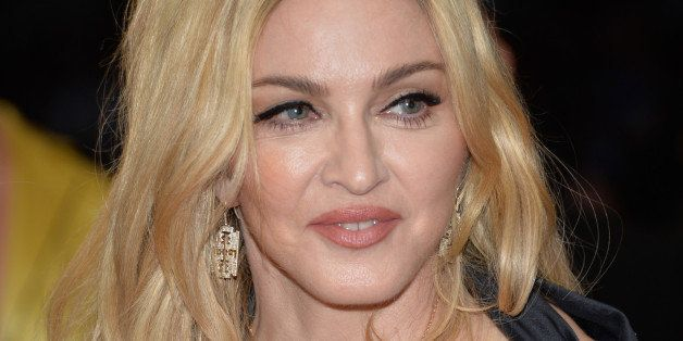"""Madonna arrives at The Metropolitan Museum of Art's Costume Institute benefit gala celebrating """"China: Through the Looking Gl"""