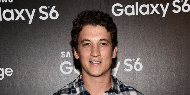 LOS ANGELES, CA - APRIL 28:  Actor Miles Teller attends the Samsung Studio LA Launch Event across from the Grove on April 28,