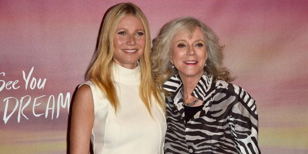WEST HOLLYWOOD, CA - MAY 07:  Actors Gwyneth Paltrow and Blythe Danner attend the Los Angeles special screening of Bleecker S