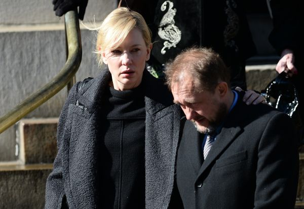 Actress Cate Blanchett and her husband Andrew Upton.