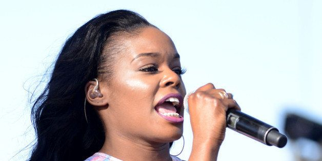 INDIO, CA - APRIL 17:  Singer Azealia Banks performs onstage during day 1 of the 2015 Coachella Valley Music And Arts Festiva