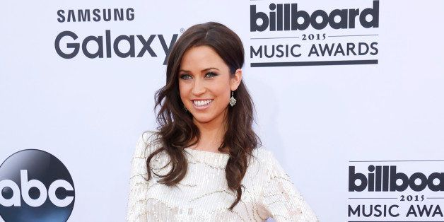 Kaitlyn Bristowe arrives at the Billboard Music Awards at the MGM Grand Garden Arena on Sunday, May 17, 2015, in Las Vegas. (