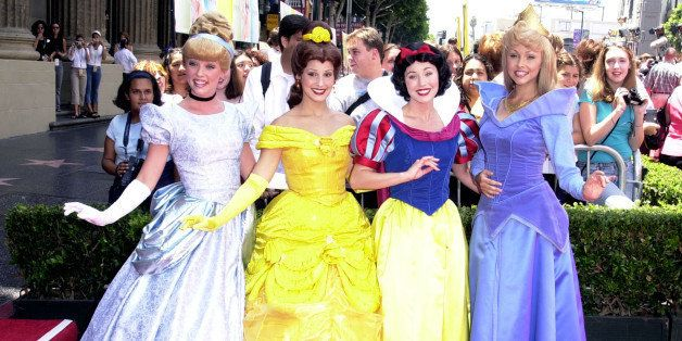 Disney Characters during The Princess Diaries Premiere at El Capitan Theatre in Hollywood, California, United States. (Photo