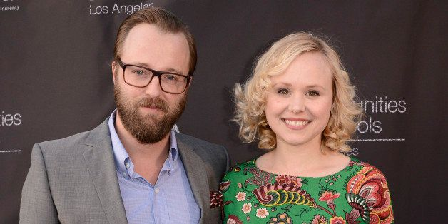 Actress Alison Pill, right, and actor Joshua Leonard attend the 2015 CISLA Annual Gala in Los Angeles on Monday, May 18, 2015