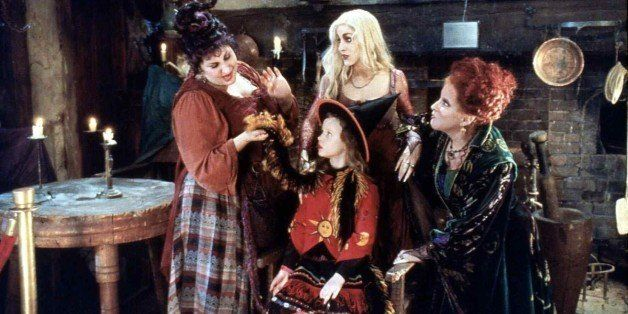 (GERMANY OUT) Hocus Pocus Kathy Najimy, Thora Birch, Sarah Jessica Parker, Bette Midler Auch Dani (Thora Birch,m), die Schwes