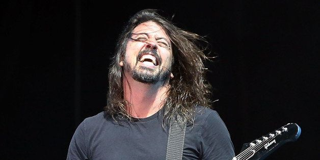 GULF SHORES, AL - MAY 15:  Dave Grohl of Foo Fighters performs at Hangout Music Festival 2015 on May 15, 2015 in Gulf Shores,