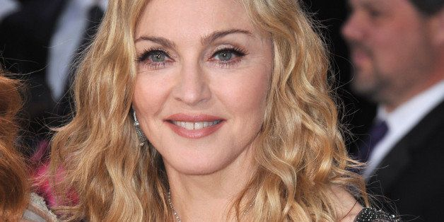 madonna at the 69th golden...