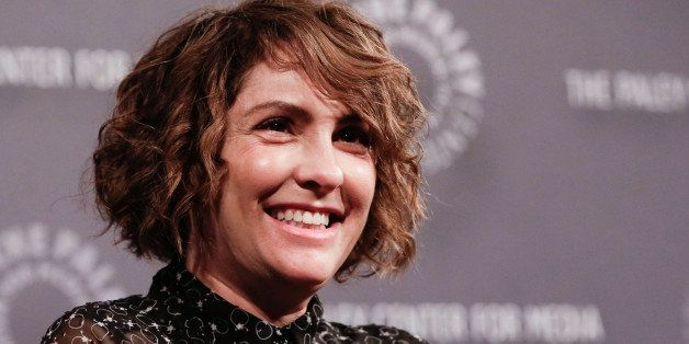 NEW YORK, NY - MAY 19:  'Transparent' creator and director Jill Soloway speaks onstage at the Amazon Original Series 'Transpa