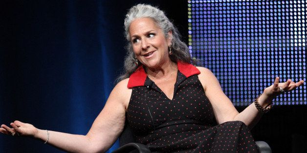 BEVERLY HILLS, CA - JULY 27:  Executive Producer Marta Kauffman speaks during the 'Five' panel during the Lifetime portion of