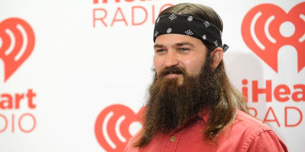 LAS VEGAS, NV - SEPTEMBER 20:  Jessica Robertson (L) and Jep Robertson of Duck Dynasty attend the iHeartRadio Music Festival