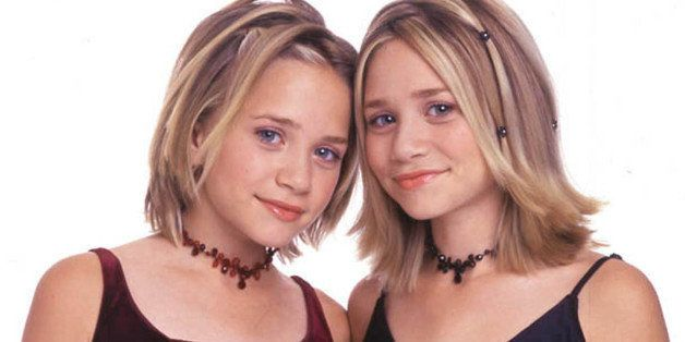 382088 03: Mary-Kate and Ashley Olsen are launching a pocket planner designed specifically for girls, November 2000. (Photo b