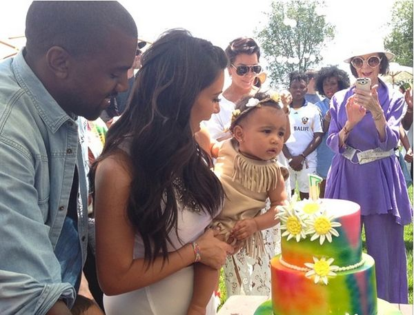 """""""Our baby girl's 1st birthday party! #kidchella"""""""