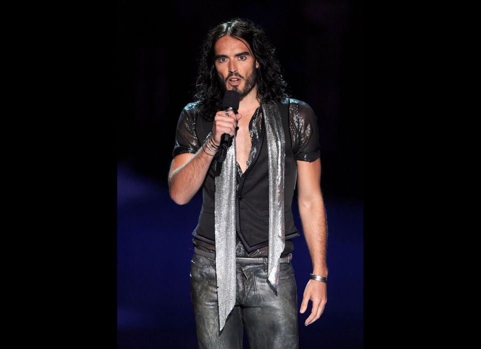 "PETA has crowned comedian Russell Brand <a href=""http://features.peta.org/sexiest-Vegetarian-Celebrities-2011/Winners.aspx"" t"