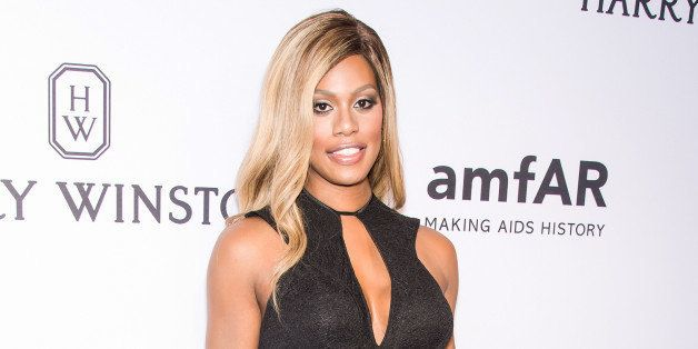 NEW YORK, NY - JUNE 16:  Actress Laverne Cox attends the 2015 amfAR Inspiration Gala New York at Spring Studios on June 16, 2