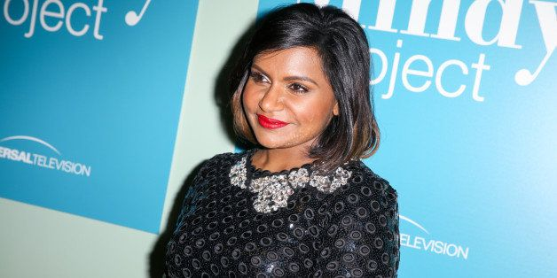 "Mindy Kaling arrives at ""The Mindy Project"" FYC Event at UCB Sunset Theater on Wednesday, June 10, 2015, in Los Angeles. (Pho"