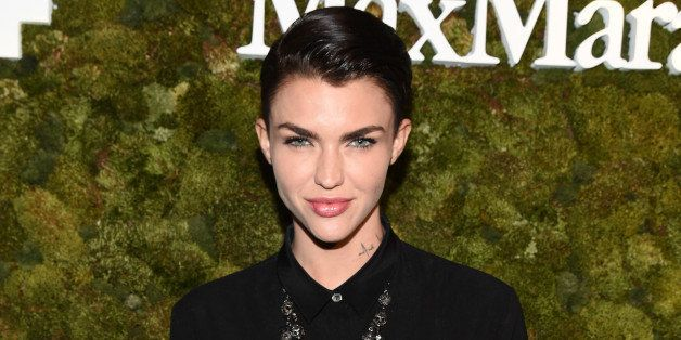WEST HOLLYWOOD, CA - JUNE 15:  Actress Ruby Rose attends The Max Mara 2015 Women In Film Face Of The Future event at Chateau