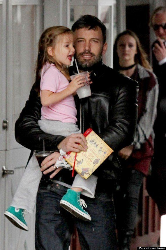 Seraphina Affleck, the 3-year-old daughter of Ben Affleck and Jennifer Garner, took a break from her very busy schedule of so