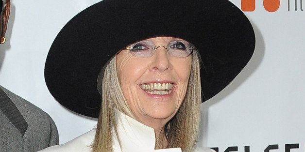 TORONTO, ON - SEPTEMBER 05:  Actress Diane Keaton attends the 'Ruth & Alex' premiere during the 2014 Toronto International Fi